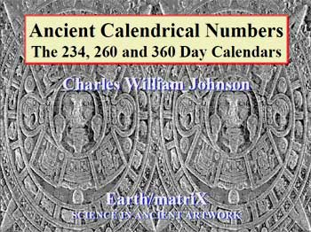 Ancient Calendical Numbers 234, 260, 360